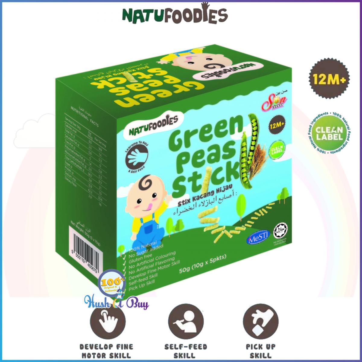 Natufoodies Healthy Snacks Sticks - Halal