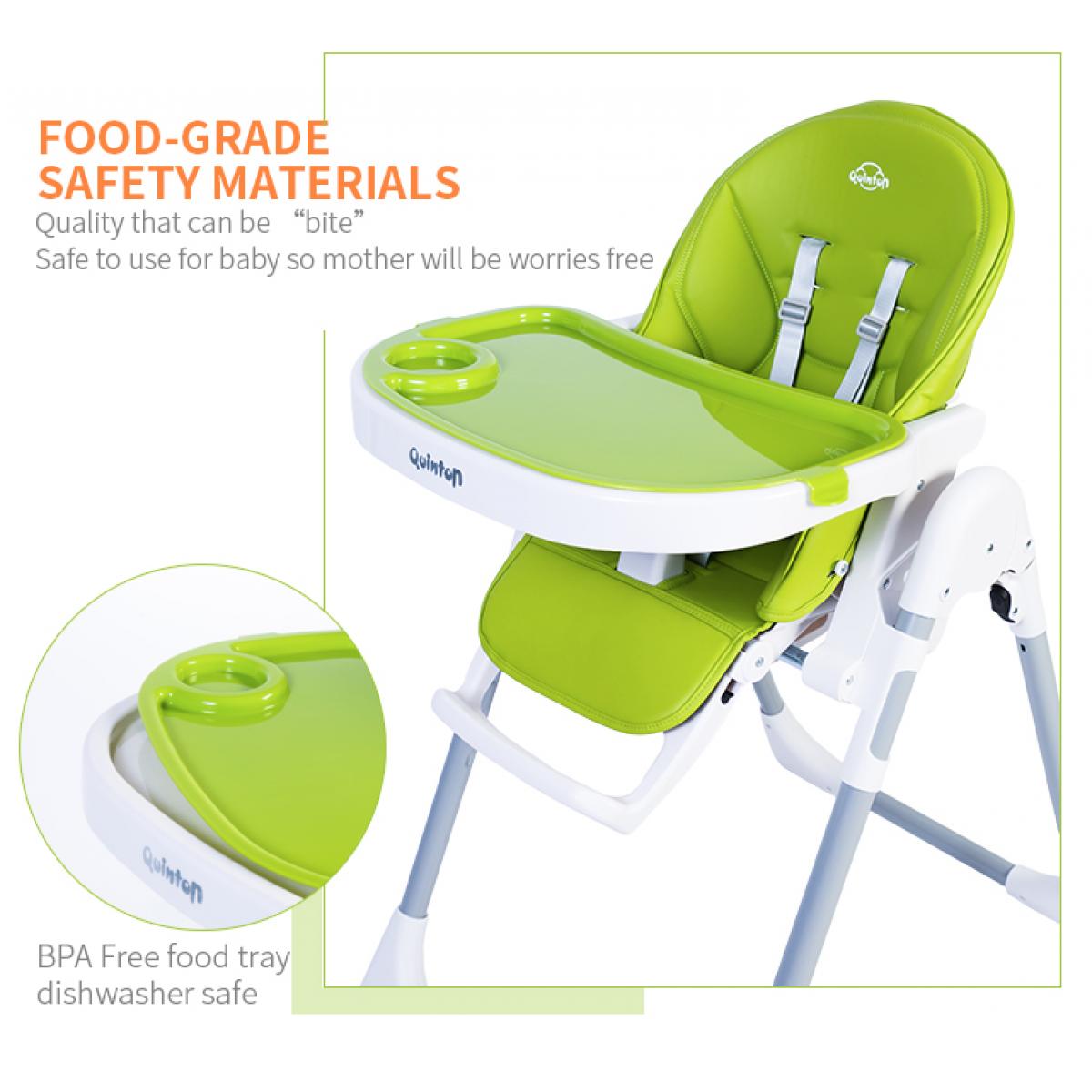 Quinton Hwugo Premium Multifunction Baby High Chair FREE CALIBOWL FREE SHIPPING