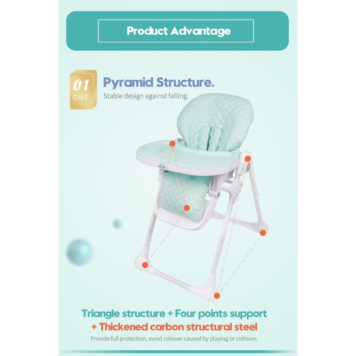 Quinton Hancy Premium Multifunction Baby High Chair FREE CALIBOWL FREE SHIPPING